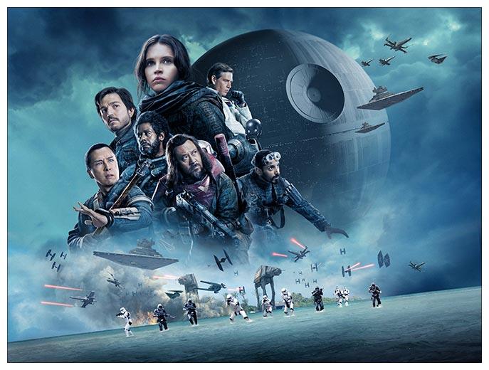 Хардпостер (на твёрдой основе) Star Wars / Звездные войны